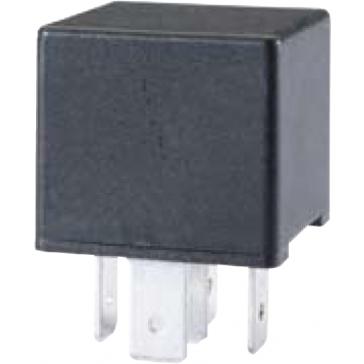 HL87404 Hella 12V 10/20A Mini Relay, SPDT with Resistor.