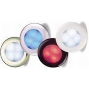 Hella 9805r Slimline Series Round Led Courtesy Lamp