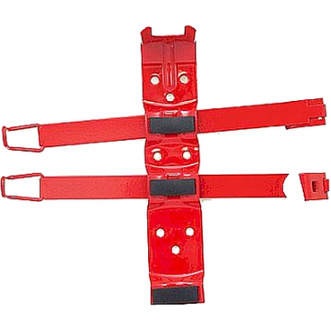 MA817SA 2.5# Fire Extinguisher Bracket with double straps