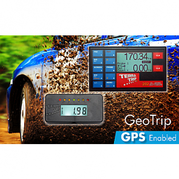 Terratrip 202 GeoTrip Rally Computer with GPS, V4