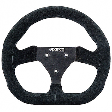 "SP015P260 SPARCO ""P260"" Steering Wheel, Competition, 260mm Diameter in Black Suede."