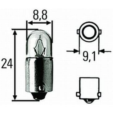 T2.75924 T2.75 BA9s 24V Bulb