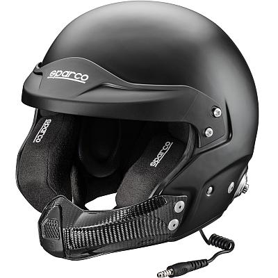 Sparco Air Pro Rj 5 Kevlar Fiberglass Open Face Helmet Sa2015