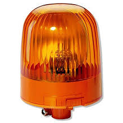 Hella KLJr Rotating Beacon KL Junior Amber Rally Lights