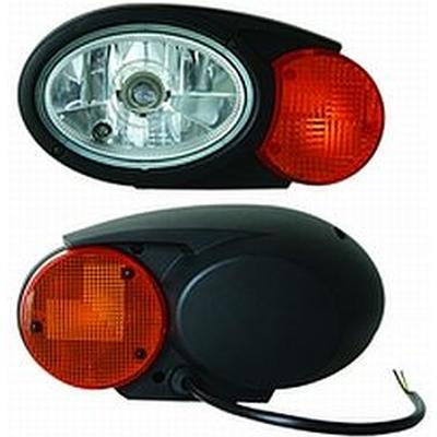 Hella Oval C120 Snow Plow Lamp Dot Rally Lights