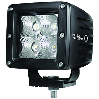 Hella ValueFit quot Cube quot Four LED Off Road Driving Light Kit
