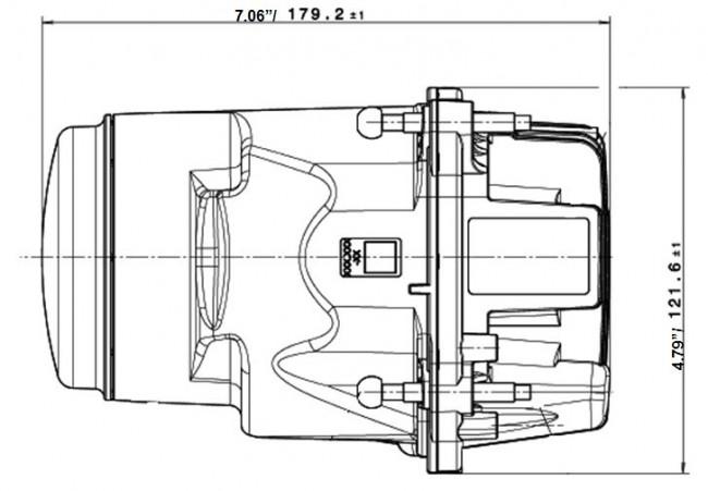 hella l4060 90mm bi low beam module gen ii