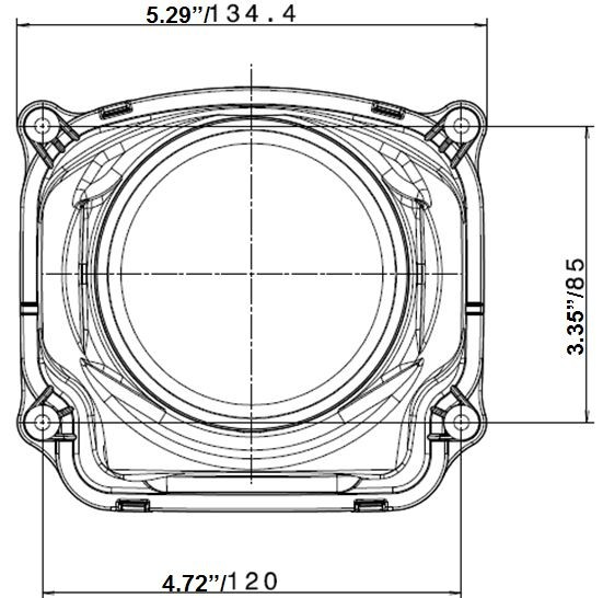 hella l4060 90mm bi low beam module gen ii