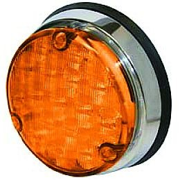 Hella 9932 Series 110mm Round Led Signal Lamp Rally Lights