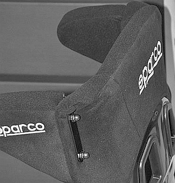 SP00872 Sparco ERGO Competition Seat with Head Bolsters