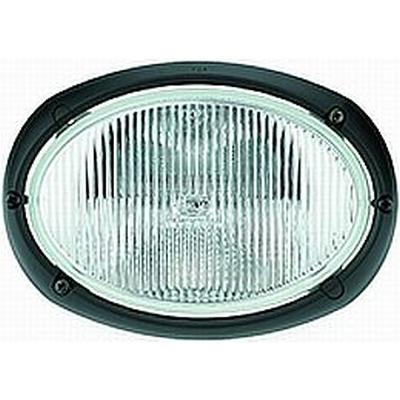 Hella Work Lamp Oval 120 12v Halogen Medium Range Flush