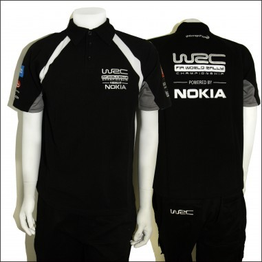 WCRE11081 Official WRC MENS POLO T-Shirt, Style 1 | Rally ...