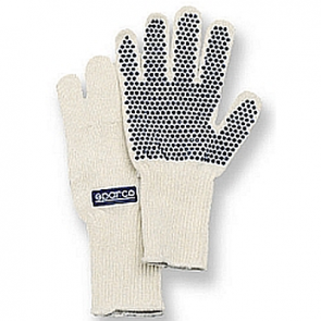 SP00210LNX Sparco NOMEX Pit Gloves, One Size Fits All