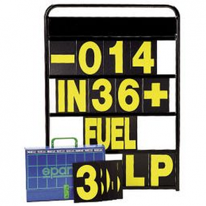 SP00594 Pit Board with Numbers