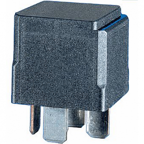 Hella HL87427 Mini Relay, 24V 10/20A , SPDT with Diode, High Temperature