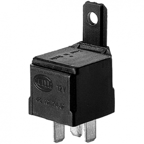 Hella HL87430 Mini Relay SPST 12V 50A with Resistor and Bracket