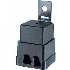 Hella HL87417 Weatherproof Mini Relay, 280 QC,12V, 20/40A, With Bracket