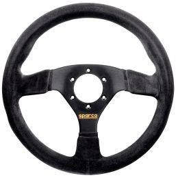 SP015R383PSN Steering Wheel, Competition, 330mm Diameter, 39mm Dish in Black Suede.