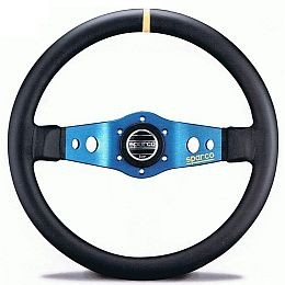 SP015TSF Steering Wheel, SAFARI, Tuning, 350mm Diameter, 90mm Dish in Black Leather or Suede.