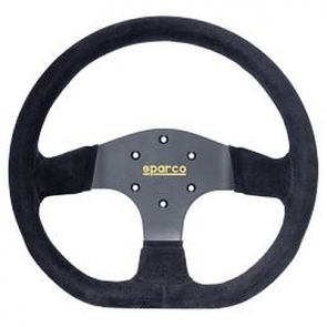 SP015R353PSN Steering Wheel, Competition, 330mm Diameter, 36mm Dish in Black Suede.