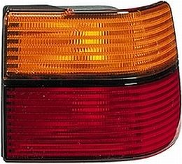 Tail Lamp VW Jetta III, Amber/Red, Outer only