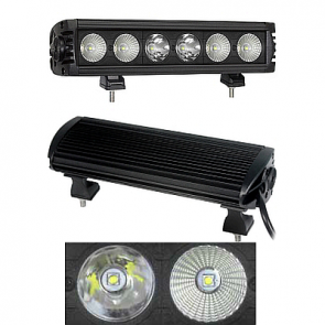 "HELLA ValueFit ""Design"" Series Light Bar 6 LED / 11"" - Combo Beam"