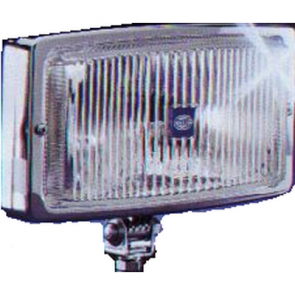 Hella 210 Series Driving Lamp, Chrome Metal Housing