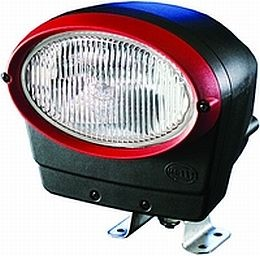 Hella Oval 100 Xenon Work Lamp with Integrated Gen IV Ballast
