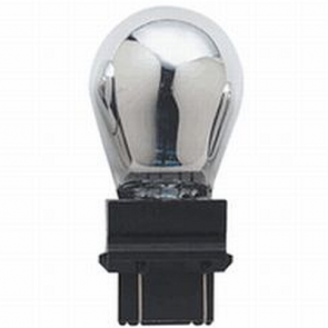 "CP3457MA Incandescant Bulb 3457 Wedge, ""Magic Amber"" 30% Brighter and Silver when off."