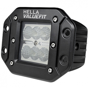 HELLA ValueFit Cube 6 LED Flood Light Flush - HL20402