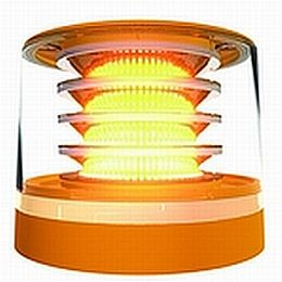 K-LED MultiFLASH Amber LED Beacon
