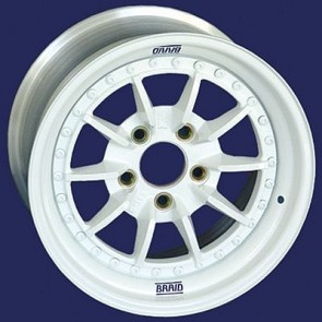 "Braid 3 Piece Series Wheel - 13"" to 15"" - 10 Spoke"