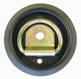 "V4115 Snappin Turtle Recessed/Flush ""D"" Ring w/Anti-Rattle Base, 1200# MBR."