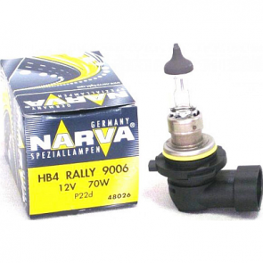 NARVA 48026 Rally 9006/HB4 70 Watt Bulb