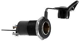 HL62888 Socket 2-Pole Flush Mount, ISO 4165