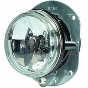 Hella 90mm Fog Lamp, H7 with Rubber Boot