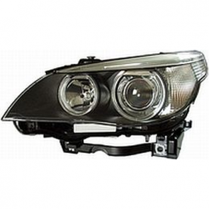 Hella Headlamp BI-Xenon BMW E60 04> w/o Cornering Lamp, HL69700/800