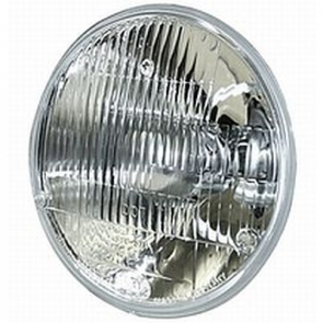 "Hella 7"" Round 9003 Vision Plus DOT Conversion Headlamp, HL70477"