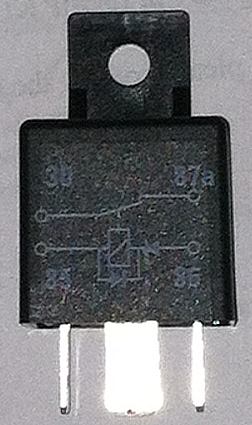 HL72101 Relay for ABS on Chrysler TC made by Maserati