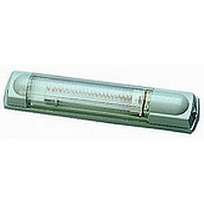 7373 Series Hella 225mm Interior Lamp, w/ Switch, Fluorescent.