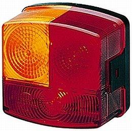 Hella 2776 Series Rear Combination Lamp Stop, Tail,Turn