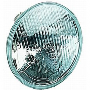 "Hella 7"" Round H4 E-Code Headlamp, Each. HL79562"
