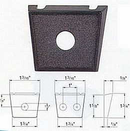 HL80520 Switch Mounting Plate, 1 Opening