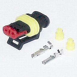 Hella Female Connector For 90mm Bi-Halogen and Bi-Xenon Shutter Control
