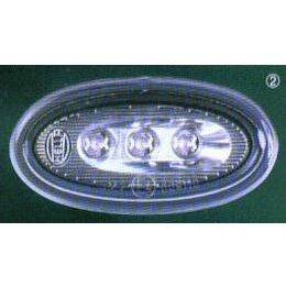 Hella 8138 Series Side Marker Lamp, LED, Oval, Each