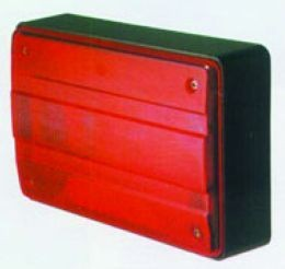 Hella 2400 Series Rear Lamp, Designline 2400 Series, 12V