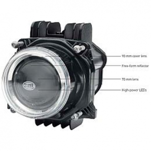 Hella Bi-LED 90mm Headlamp Module, Hi-Low Beam