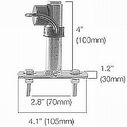 HL84252 Hella Mounting Bush for Horizontal Roof Mount