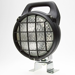 Matador Work Lamp with Grille & Switch, CR,