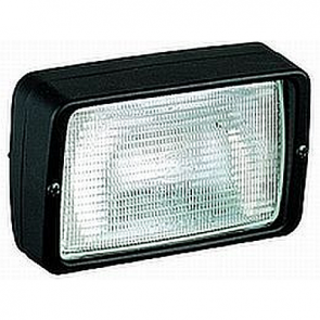 Hella PICADOR Worklamp, Flush Mount, Black Housing 12V